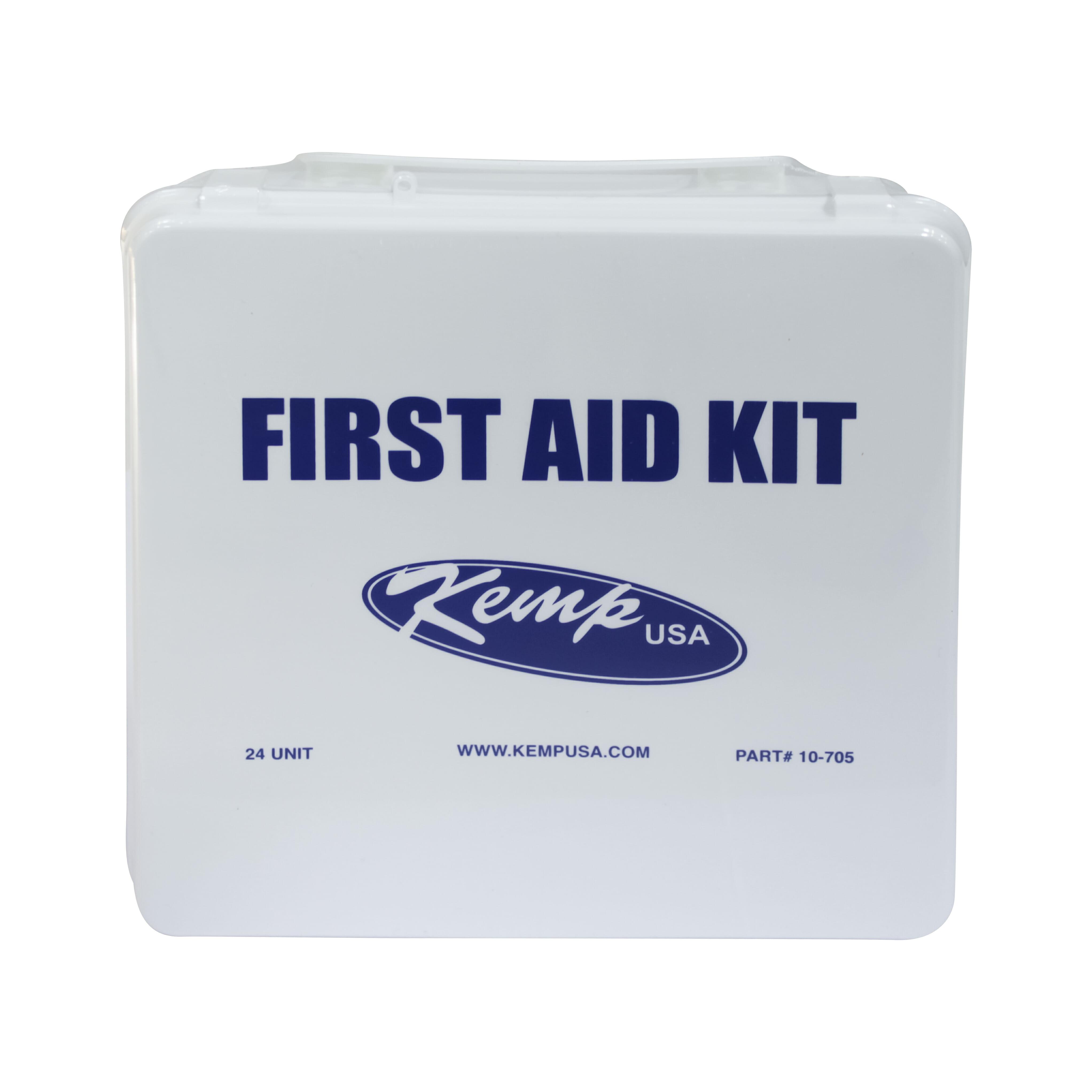 KEMP 35 Person 24 Unit First Aid Kit